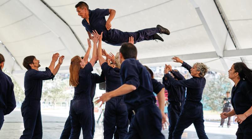 Compañía Nacional de Danza se presenta en el Festival Escenarios del Mundo