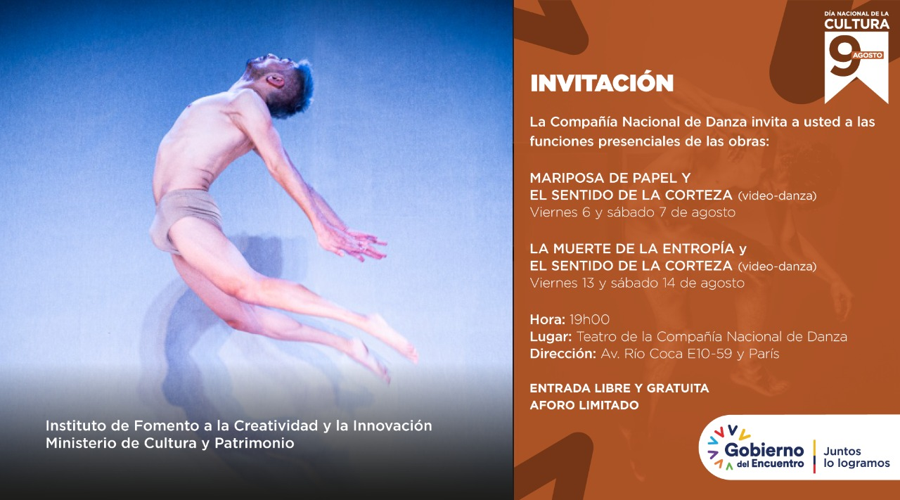 Compañía celebra el Mes Nacional de la Cultura con obras de estreno